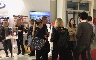 Gli espositori di Sarno Display al Cosmopack di Bologna
