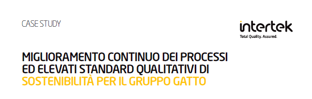 Intertek racconta Gatto Astucci